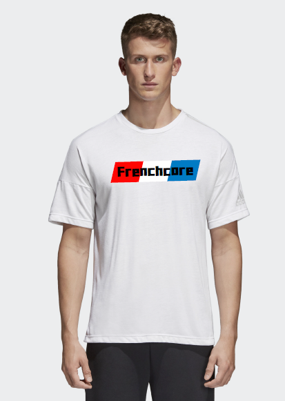 t shirt frenchcore man