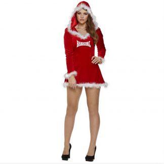 Kerst jurkje hardcore